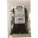 Iowa Smokehouse & Preferred Wholesale 253841 10 oz Cracked Black Pepper Flavor Beef Jerky - Pack of 6