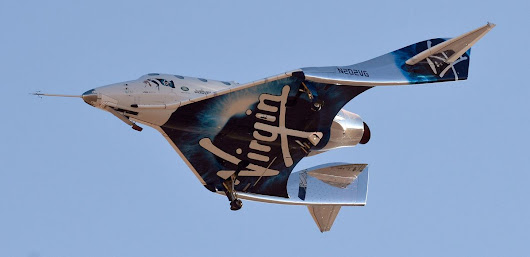 Virgin Galactic Tourism Rocket Ship Reaches Space in Test