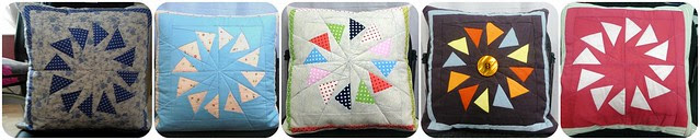 Foundation Piecing Cushion class May13