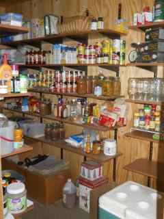 More Pantry Shelves