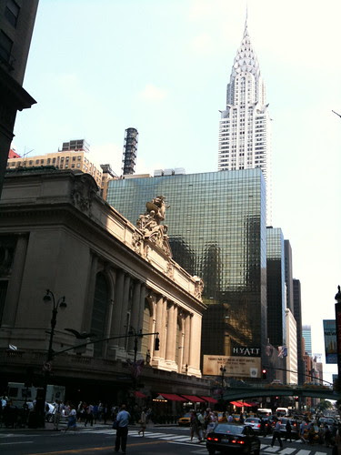 Grand Central Terminal, w/ Chrysler Bldg behind it