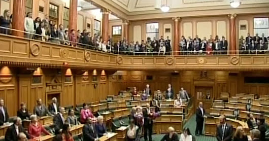 WATCH: New Zealand MPs Sing Maori Love Song After Approving Gay Marriage