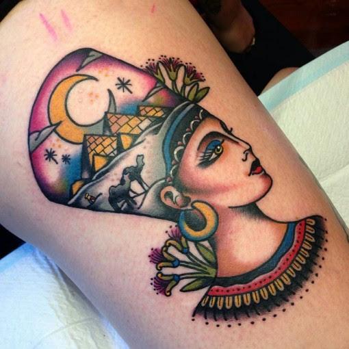 Queen Nefertiti Tattoo Best Tattoo Ideas Gallery