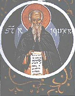 IMG ST. RICHARIUS, Riquier, Abbot,