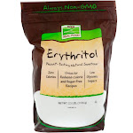 Now Foods Erythritol Natural Sweetener - 2.5 lb pouch