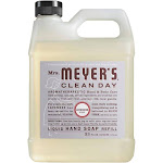 Mrs. Meyer's Clean Day Liquid Hand Soap Refill, Lavender - 33 fl oz jug