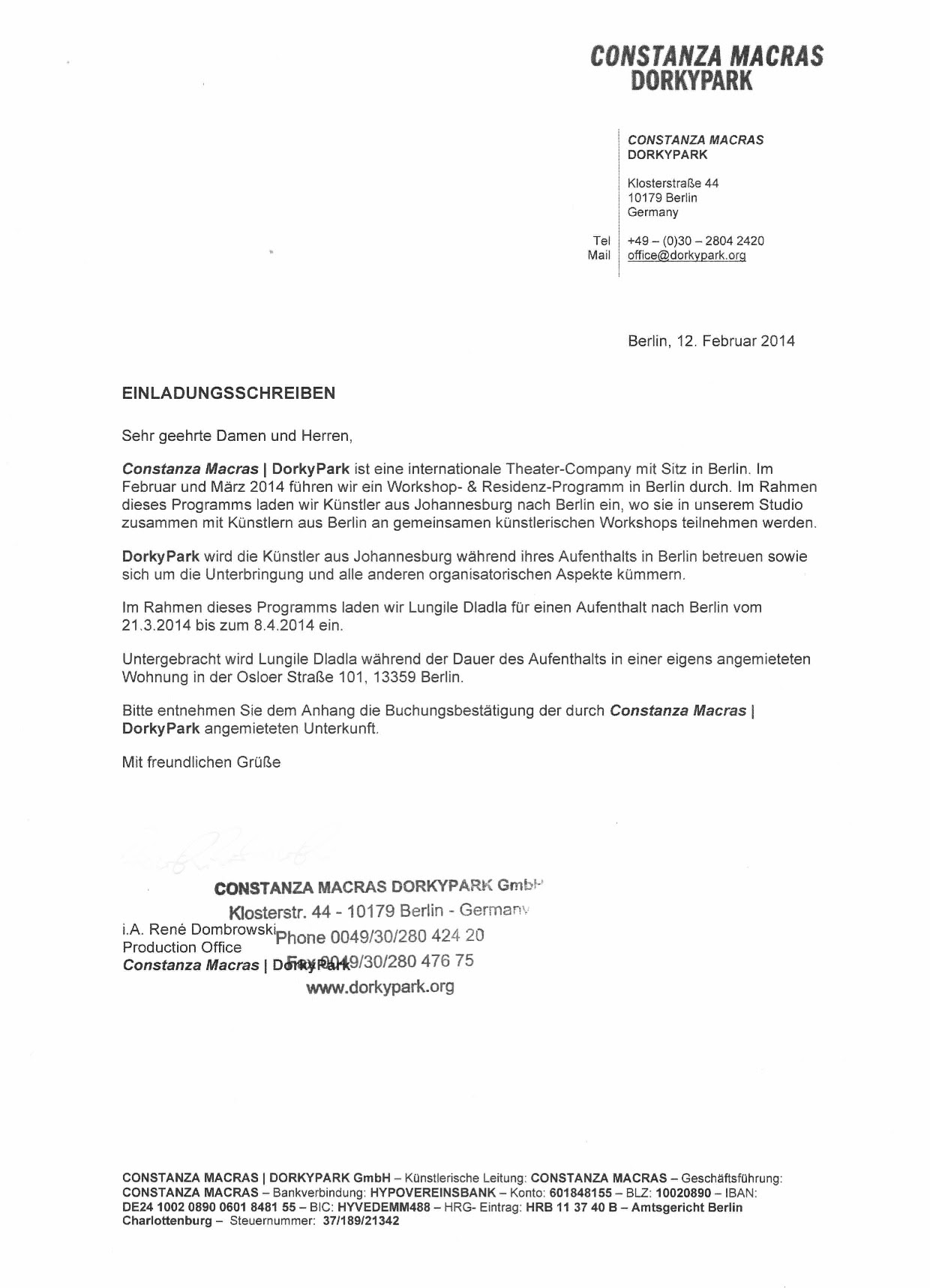 Sample Personal Covering Letter For German Visa Family Reunion Familyscopes