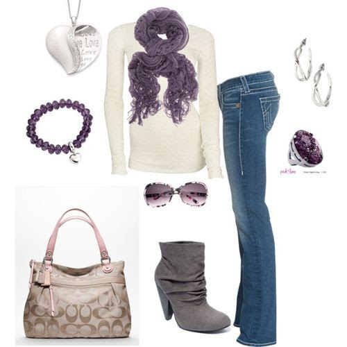 purple (girls,dress,girl,fashion,style,clothes,polyvore,our picks)