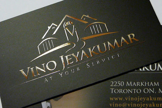Spot UV Silk Laminated Business Card printed by printnex.com