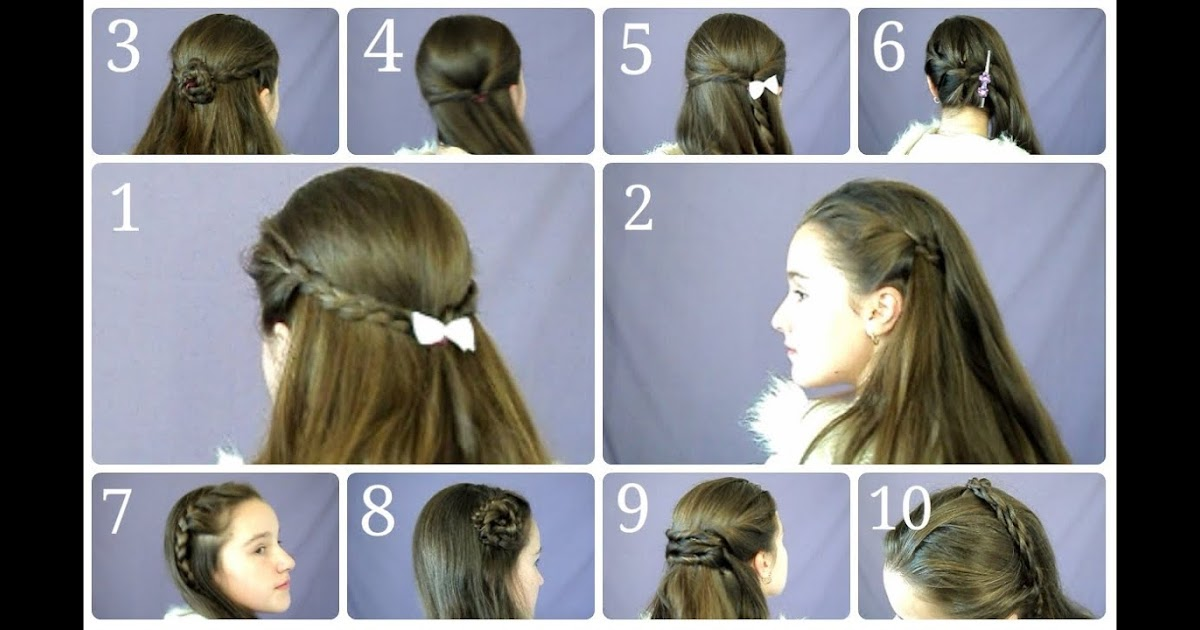 Hair Style References: Comicsfancompanion: Daily Hair Style At Home Intended For