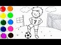 Dibujos Para Colorear De Futbol Para Ninos