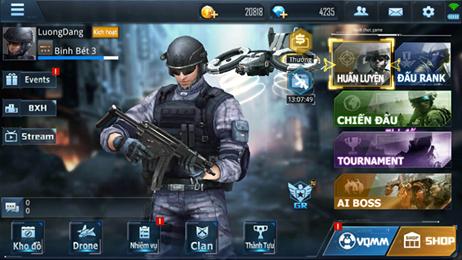 cách tải game phục kích mobile của VTC
