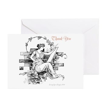 Writers Thank You Greeting Cards (Pk of 10)