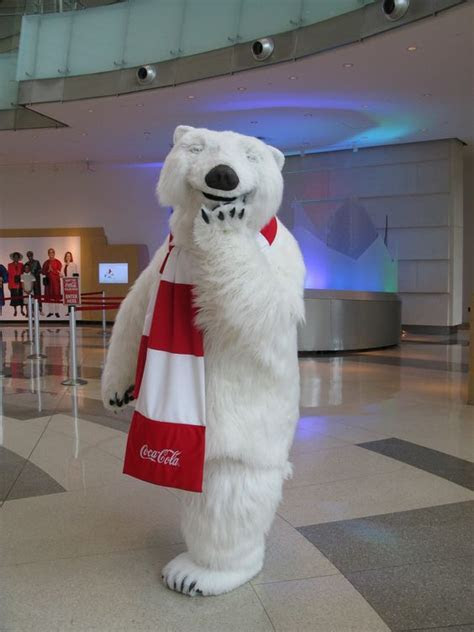 World of coke polar bear in Atlanta Georgia   coke photos