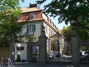 'Schlosshotel im Grunewald', accommodation of ...