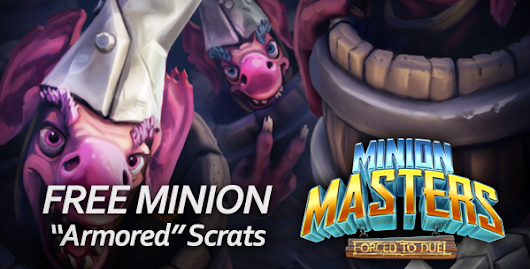 Minion Masters now with 2on2 Team Battle