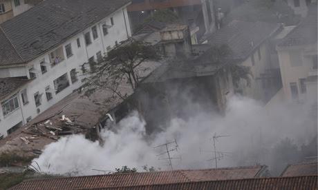 Aircraft crash with Eduardo Campos Brazil