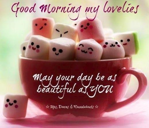 Good Morning My Lovelies