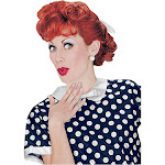 I Love Lucy Adult Wig - 262 - Red - One-Size