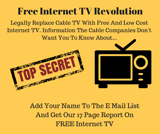 How To Drop Cable TV And Get Started With FREE And Low Cost Internet TV