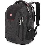 "SwissGear Scan Smart TSA Laptop and USB Power Plug Backpack, Black, 18.5"""