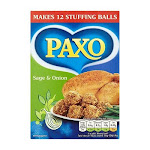 Paxo Sage & Onion Stuffing Mix 85g - Pack of 2 By British Food Supplies