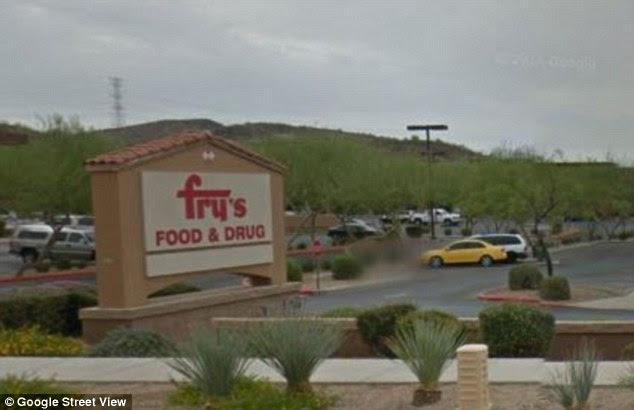 Fry's grocery store sells salmon fillet with live ...