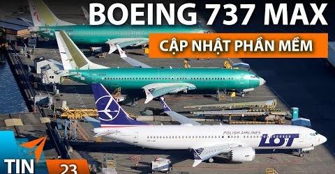 TIN MÁY BAY #23: Boeing 737 MAX được nâng cấp phần mềm | Yêu Máy Bay