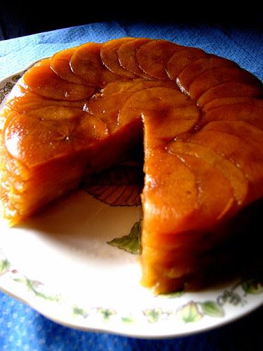 apple confit cake 1