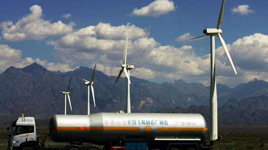 China embarked on wind power frenzy, says IEA - BBC News