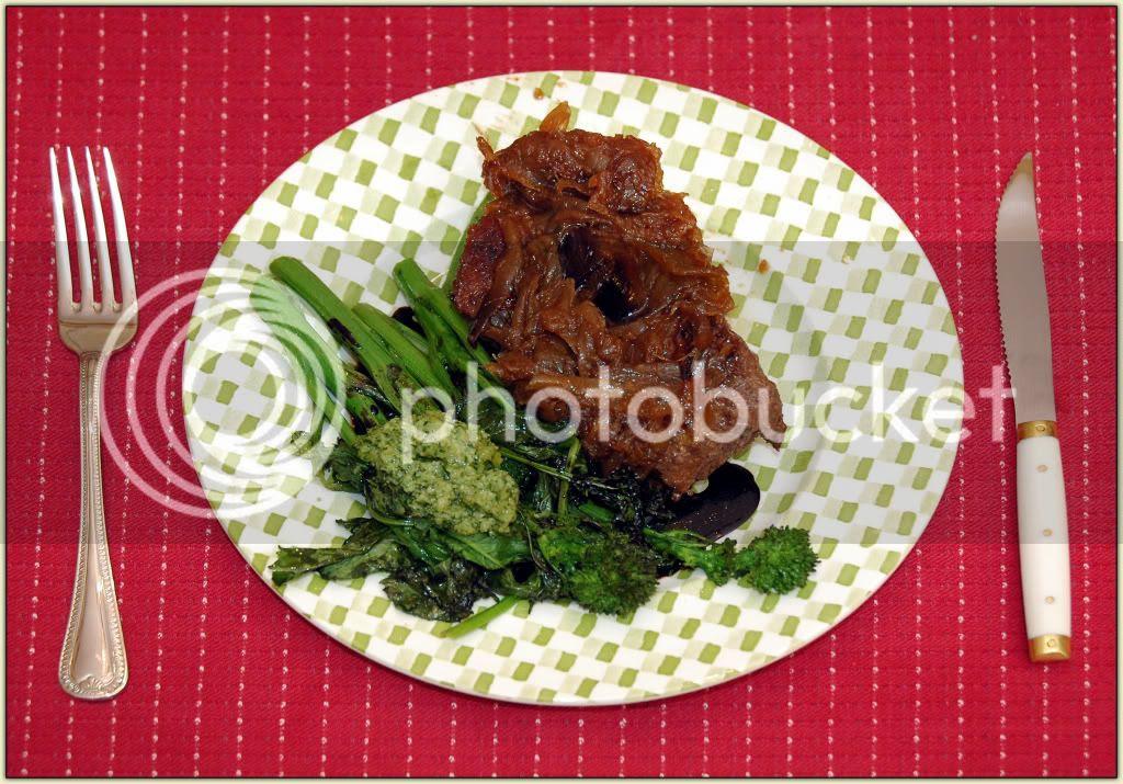 Rabe 'n' Steak