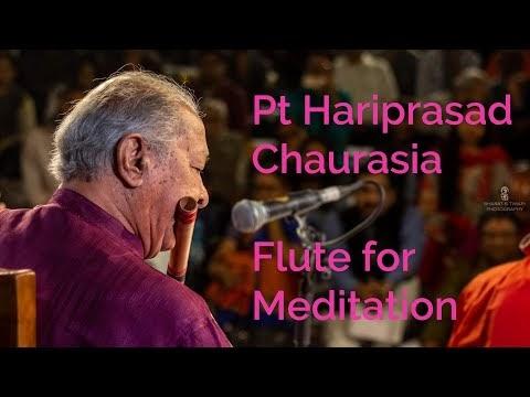 पंडित हरिप्रसाद चौरसिया: ध्यान की बांसुरी आईजीएनसीए से |  Pt Hariprasad Chaurasia flute for meditation