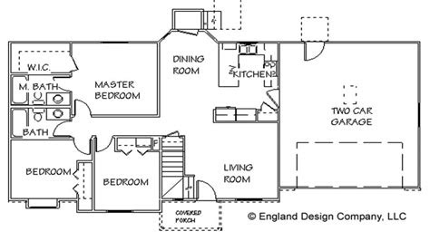 simple country house floor plans  simple small house