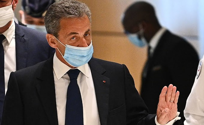 Tres años de cárcel, por corrupción, al expresidente francés, Nicolas Sarkozy