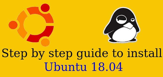 Step by step guide to install Ubuntu 18.04 - LinuxTechLab