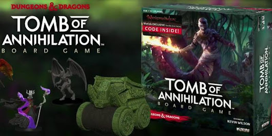 Wizkids - Tomb of Annihilation Board Game - Tribality