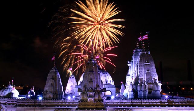 Where to Celebrate Hindu Festival of Diwali in UK