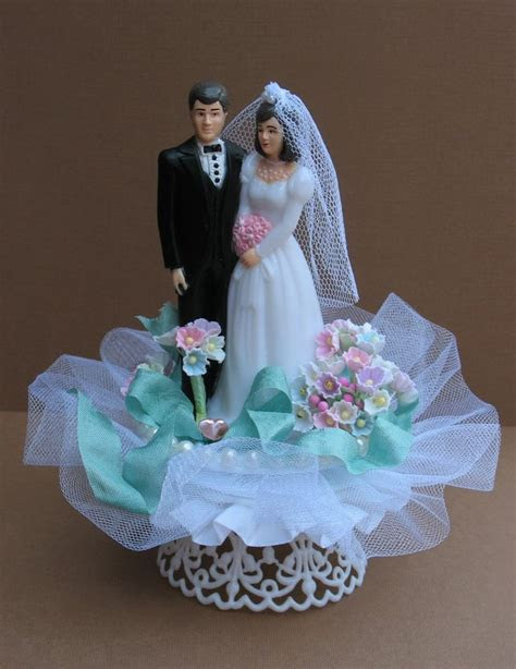 168 best images about Vintage Cake Toppers on Pinterest