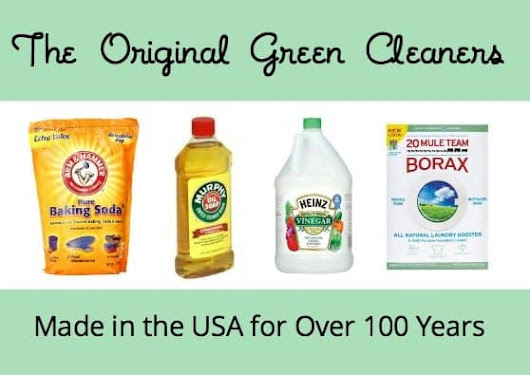 Made in the USA for Over 100 Years: The Original Green Cleaners - USA Love List