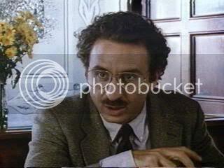 Ron Silver as Alan Dershowitz in 'Reversal of Fortune'