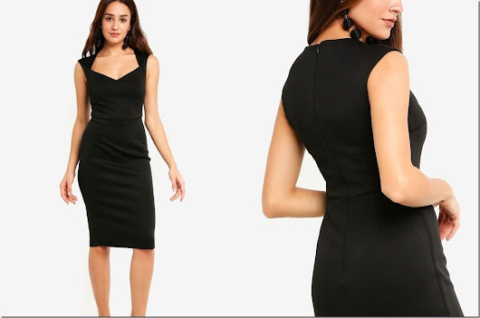 Fashionista NOW: The Bodycon Dress Style For Your Christmas Party Wardrobe 2018
