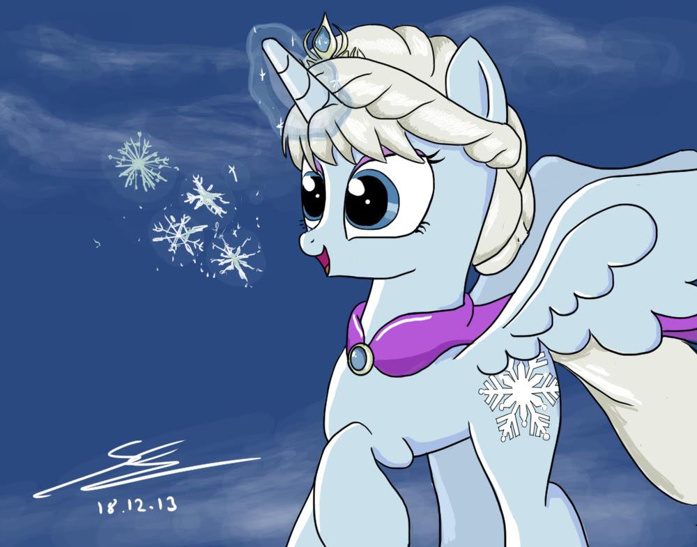 Frozen My Little Pony Frozen Photo 36678380 Fanpop