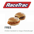 FREE Chicken Sandwich or Angus Cheeseburger at RaceTrac - Hunt4Freebies