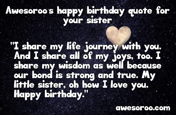 318 Best Happy Birthday Sister Status Quotes Wishes Jan 2019