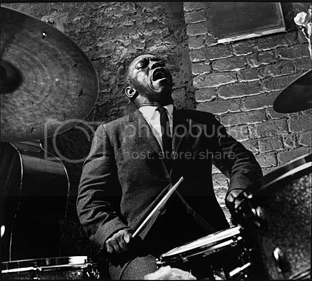Art Blakey by Herman Leonard