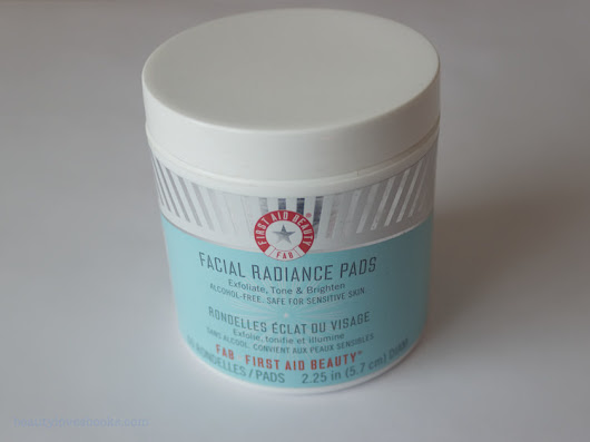 First Aid Beauty Facial Radiance Pads - ревю