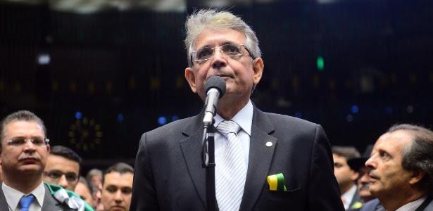 O líder do Democratas na Câmara, Pauderney Avelino (AM)