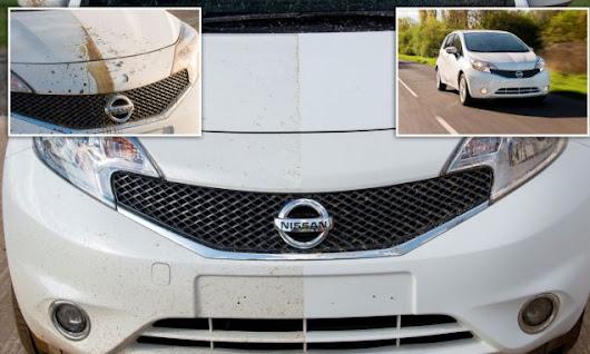 Nissan produces world's first self-cleaning car