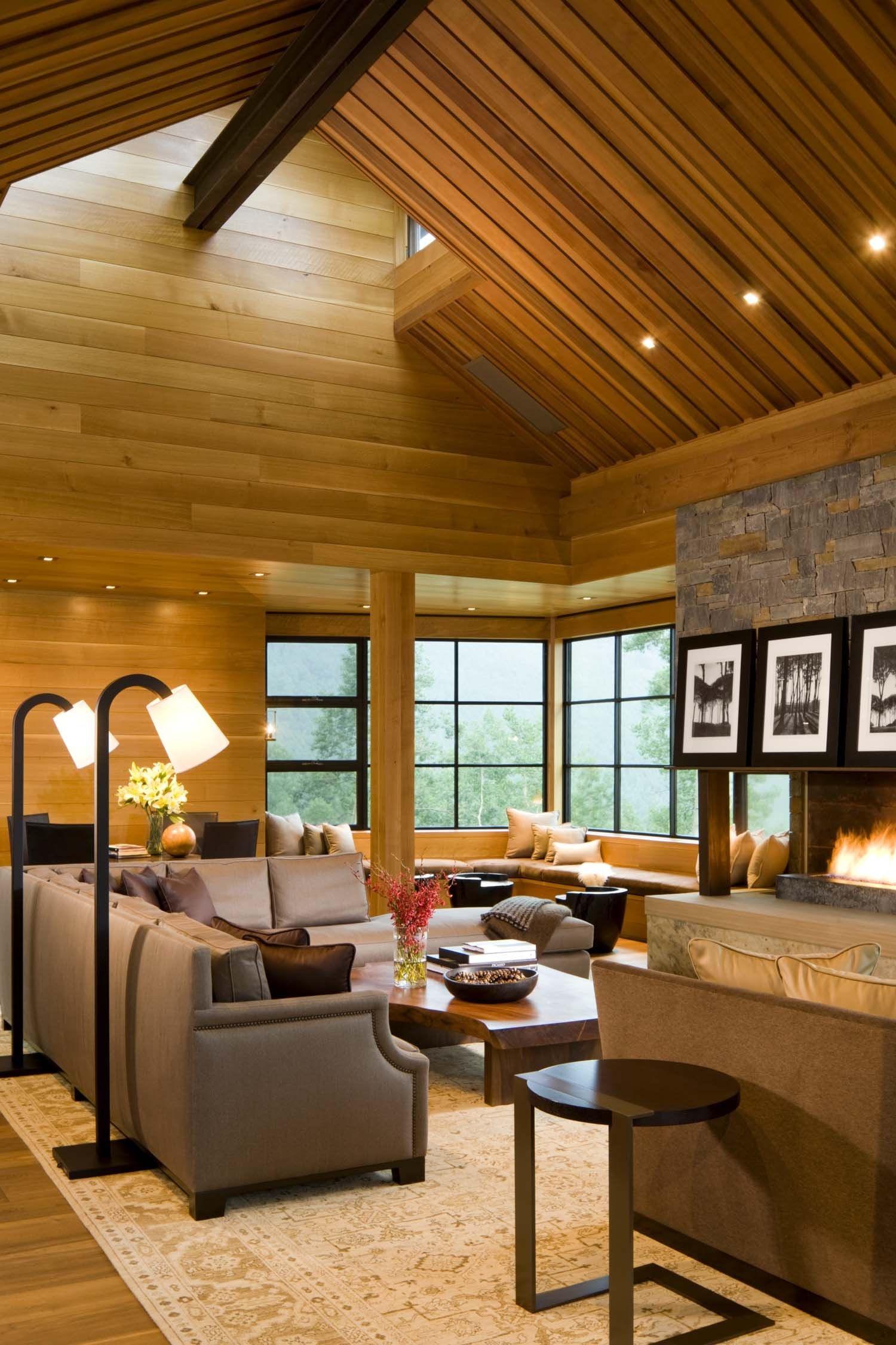 Vaulted Living Room Ideas - HomesFeed