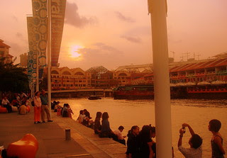 Stunning Singapore River - Clarke Quay